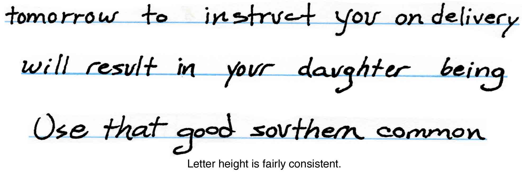 Handwriting analysis experts ohio